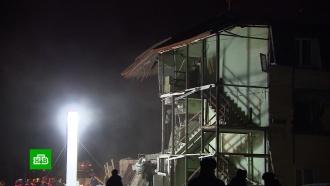 ВКрасноярске завершен основной разбор завалов разрушенного дома