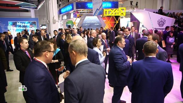 Инвестиционный форум в Сочи побил рекорд по количеству сделок.Медведев, Сочи, инвестиции, торговля, экономика и бизнес.НТВ.Ru: новости, видео, программы телеканала НТВ