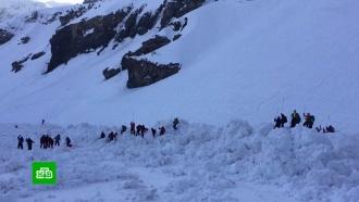 Лавина вШвейцарии накрыла туристов