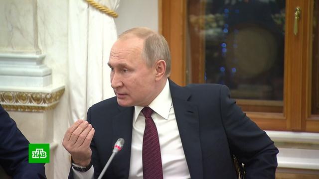 Путин: России надо быть готовой к угрозе отключения от Интернета.Президент на встрече с главами российских СМИ заявил, что существует теоретическая угроза отключения России от Интернета, поэтому Рунету необходима независимость.Интернет, Путин, СМИ.НТВ.Ru: новости, видео, программы телеканала НТВ