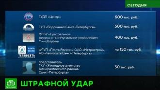 ГАТИ Петербурга наказала за плохую зимнюю уборку на 38 млн рублей