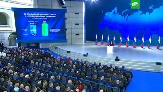 Путин: золотовалютные резервы впервые вистории покрывают внешний долг