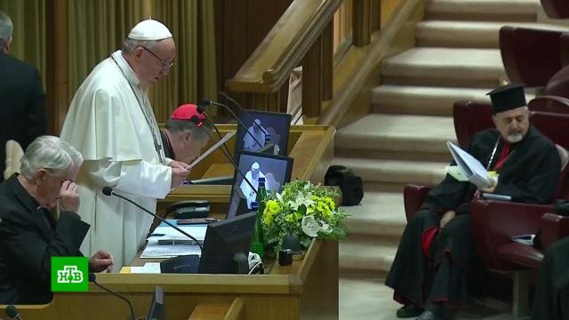 ВВатикане будут четыре дня слушать истории жертв священников-педофилов.Ватикан, папа римский, педофилия, религия.НТВ.Ru: новости, видео, программы телеканала НТВ