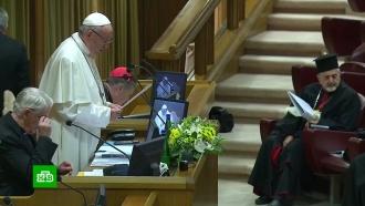 ВВатикане будут четыре дня слушать истории жертв <nobr>священников-педофилов</nobr>