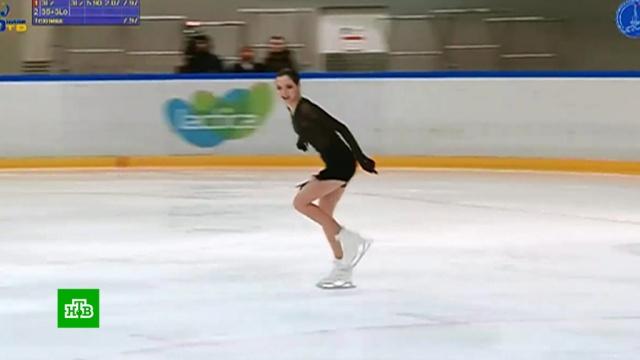Фигуристка Евгения Медведева получила путевку на ЧМ вЯпонию.спорт, фигурное катание.НТВ.Ru: новости, видео, программы телеканала НТВ
