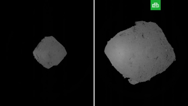 Японский «Сокол» совершил успешную посадку на астероид Рюгу.Японский космический зонд «Хаябуса-2» («Сокол-2») совершил посадку и взлет, взяв образцы грунта с астероида Рюгу.Япония, астероиды, космос.НТВ.Ru: новости, видео, программы телеканала НТВ