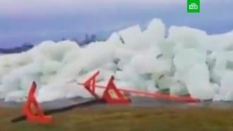 Ледяное цунами вКанаде