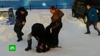 На Камчатке полицейских избили после ДТП