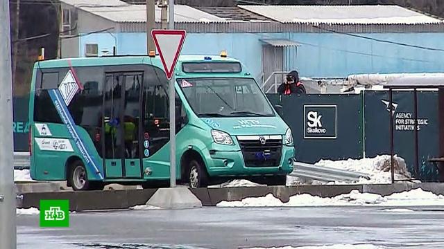 На столичном полигоне начались массовые испытания беспилотных авто.Москва, автомобили, технологии.НТВ.Ru: новости, видео, программы телеканала НТВ