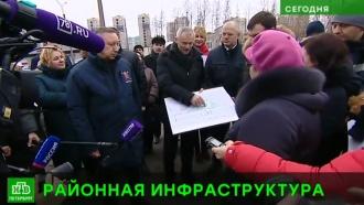 Врио губернатора Петербурга показали новый детсад и бережливую поликлинику