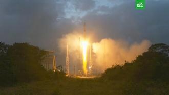 Ракета «Союз» вывела на орбиту британские спутники связи OneWeb