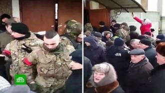 Радикалы захватили православный храм в Тернопольской области Украины