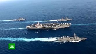 США иЮжная Корея решили прекратить совместные военные учения