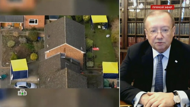 Посол РФ вВеликобритании: нам пытаются диктовать, кто должен здесь работать.Великобритания, интервью, эксклюзив.НТВ.Ru: новости, видео, программы телеканала НТВ