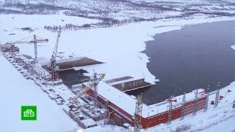 На Колыме запустили третий гидроагрегат крупнейшей строящейся в России ГЭС