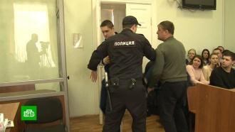 Убивший журналиста кирпичом <nobr>блогер-оппозиционер</nobr> предстал перед судом