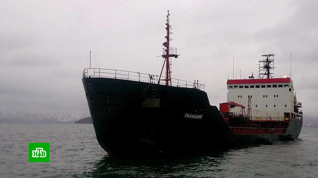 К тюремным срокам приговорили Российских моряков с судна Палладий в Южной Корее
