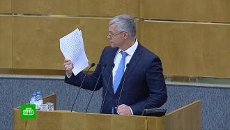 Депутат объяснил суть закона оштрафах за фейки