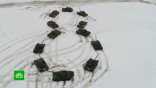 Бронебойное поздравление: владимирские танкисты устроили необычную акцию к 8 Марта.8 Марта, Владимирская область, торжества и праздники.НТВ.Ru: новости, видео, программы телеканала НТВ
