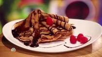 Необычные шоколадные блины сягодами от Кати Кондратьевой.НТВ.Ru: новости, видео, программы телеканала НТВ