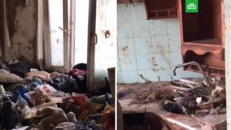 Девочка-маугли найдена в квартире-помойке