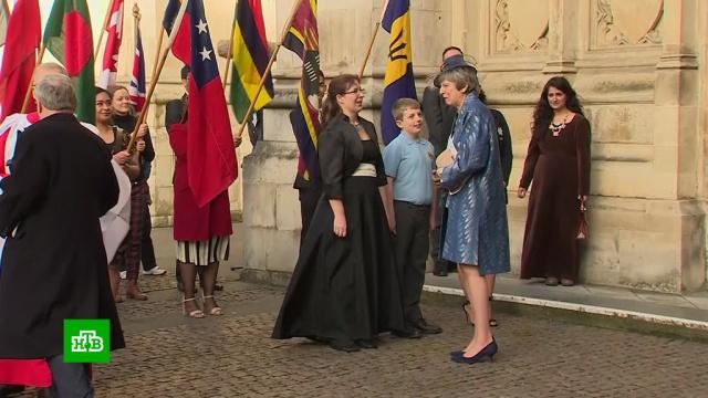 Перед голосованием по Brexit Мэй встретилась сглавой Еврокомиссии.Великобритания, Тереза Мэй.НТВ.Ru: новости, видео, программы телеканала НТВ