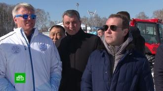 Медведев поздравил сборную России спобедой на Универсиаде