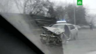 В Кемерове из-за открытого люка на дороге произошло массовое ДТП