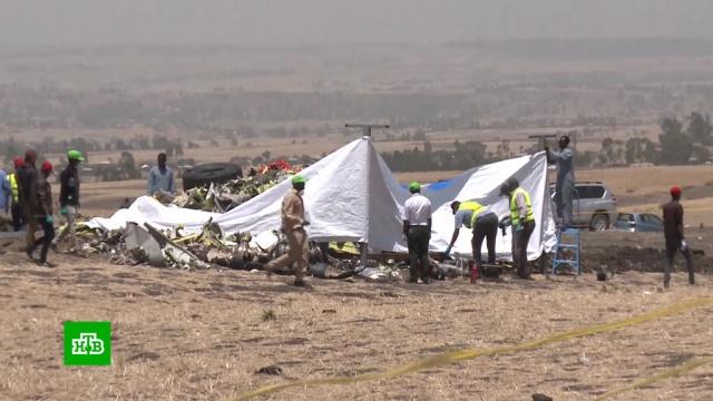Черные ящики сразбившегося эфиопского самолета отправлены вПариж.Канада, США, авиакомпании, авиационные катастрофы и происшествия, самолеты.НТВ.Ru: новости, видео, программы телеканала НТВ