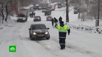 Транспортный коллапс в Челябинске: город парализован из-за непогоды