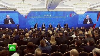 Путин поручил согласовать закон о защите капиталовложений с бизнесом