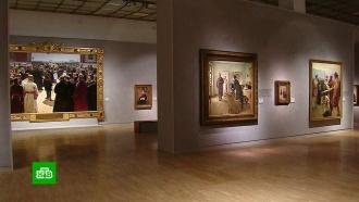 Каждую картину на выставке Репина в Третьяковке подключили к сигнализации