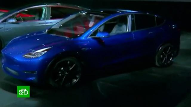 Tesla представила кроссовер с автопилотом и стеклянной крышей.Илон Маск, автомобили, беспилотники.НТВ.Ru: новости, видео, программы телеканала НТВ