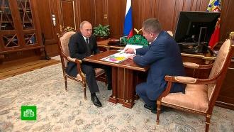 Глава Волгоградской области рассказал Путину о ситуации с медпомощью в регионе