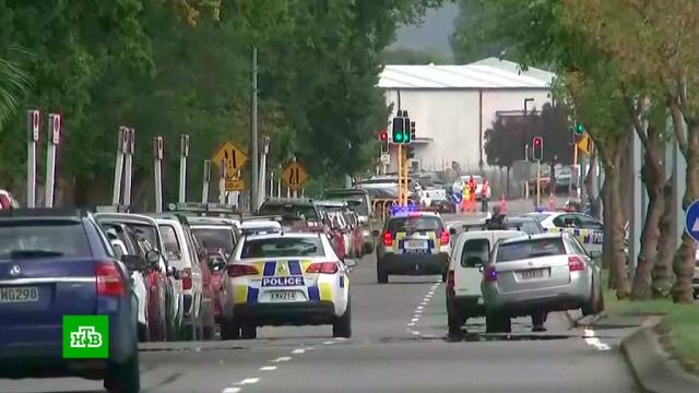 Нападавший вНовой Зеландии стрелял по прохожим из машины