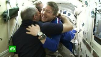 Экипаж «Союза» перешел на МКС