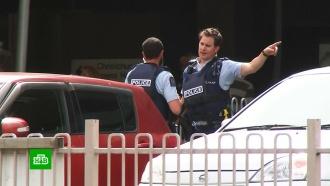 Более 20человек погибли при стрельбе вмечетях вНовой Зеландии