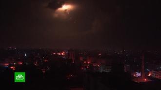 Израиль наносит удары по сектору Газа в&nbsp;ответ на обстрел <nobr>Тель-Авива</nobr>