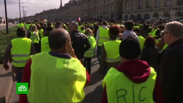 «Желтые жилеты» готовятся дать решающий бой Макрону и «взять Париж».Макрон, Франция, беспорядки, митинги и протесты.НТВ.Ru: новости, видео, программы телеканала НТВ