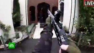 Новозеландский стрелок вел прямую трансляцию убийств