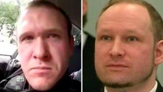 Новозеландский террорист получил благословение от Брейвика