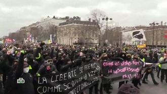Социальный бунт: французы восстали против «показухи» Макрона