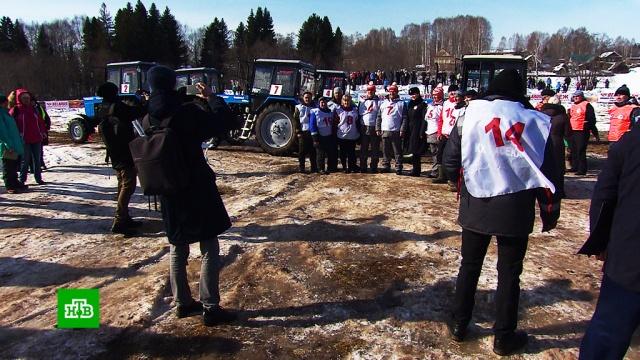 В Удмуртии устроили турнир по тракторному биатлону.Удмуртия.НТВ.Ru: новости, видео, программы телеканала НТВ