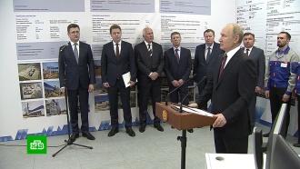 Путин дал старт работе Таврической иБалаклавской ТЭС вКрыму