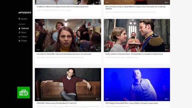 MySpace потеряла данные пользователей за 12лет.НТВ.Ru: новости, видео, программы телеканала НТВ