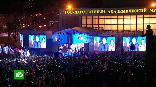 ВКрыму высадился звездный десант.Крым, митинги и протесты.НТВ.Ru: новости, видео, программы телеканала НТВ