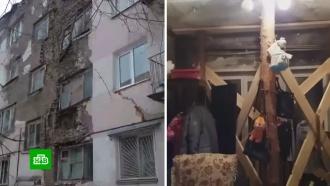 В Саратове жильцов разваливающегося дома эвакуировали в пансионат