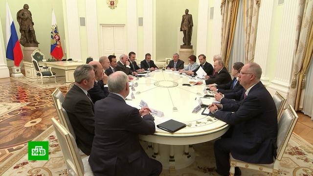 Путин предложил британскому бизнесу инвестировать в российские нацпроекты.BP, Великобритания, Путин, Роснефть, экономика и бизнес, нацпроекты.НТВ.Ru: новости, видео, программы телеканала НТВ