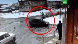Житель Оренбургской области на скорости сбил бывшую жену