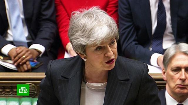 Мэй огорчена отсрочкой Brexit.Великобритания, Тереза Мэй.НТВ.Ru: новости, видео, программы телеканала НТВ